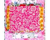 "Liberty Fabric 6"" x 5"" + 3"" x 3"" Scrap Bag Bundle Patchwork Quilting Floral Mixed Squares Rectangles Oblongs Liberty of London Tana Lawn"