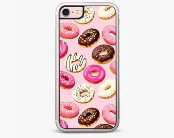 Yummy Donuts iPhone 6S Case iPhone 6 Plus Case iPhone 7 Case Pink iPhone 7 Plus cases iPhone 5s case