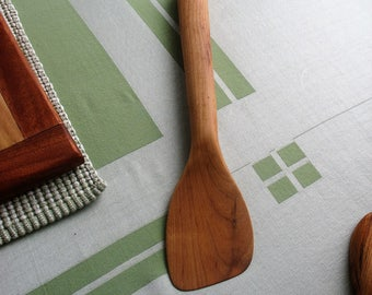 Hand Carved Spatula made from Solid Hickory