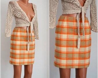 Vintage ESPRIT Mohair Skirt , size S-M