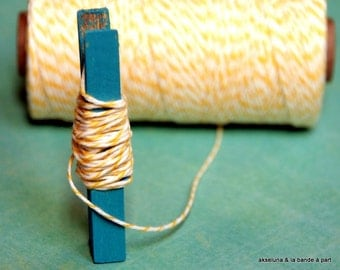 Twine Baker's Twine fine - yellow - 10 m ep.1mm
