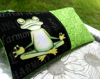 Zip Pouch, Froggy Clutch, Small Makeup Bag