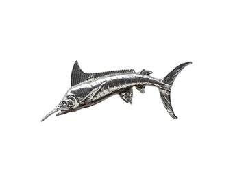 Marlin Large ~ Lapel Pin/Brooch ~ S001,SC001,SP001,FP001B