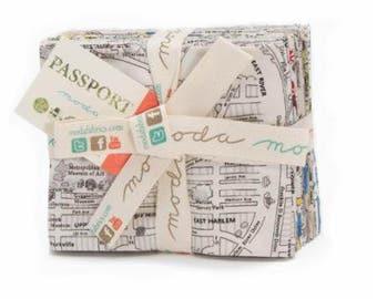 Passport by Moda One 11 Piece Fat Quarter Bundle