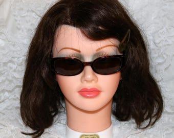 Vintage Calvin Klein Sunglasses - 4022*  4  49[]19  140 - Amber Lenses - Tortoise Frames - 1990s