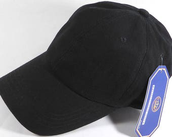 Your Print Black Dad Hat Baseball Cap Twill 6 Panel Custom Embroidery Low Profile Pro Style