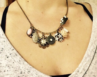Beautiful Vintage Charmed Necklace