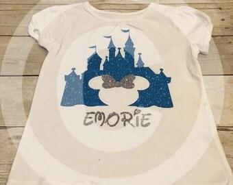 Disney castle shirt