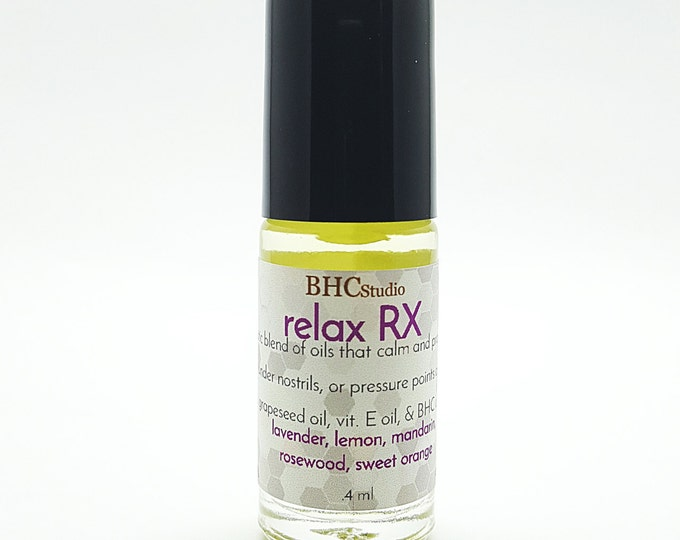 Relax RX Therapeutic Oil