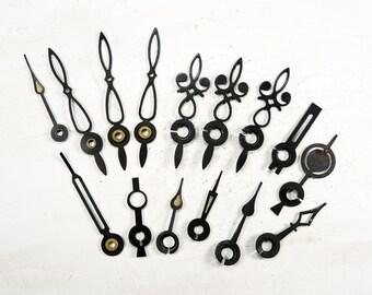 Black Clock Hands - set of 15 - G152