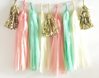 DIY Tassel Garland Kit - Pick your colors!