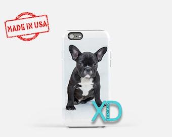 French Bulldog iPhone Case, Dog iPhone Case, Bulldog iPhone 8 Case, iPhone 6s Case, iPhone 7 Case, Phone Case, iPhone X Case, SE Case