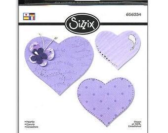 Sizzix Bigz Die 5.5'X6'-Hearts
