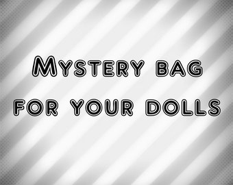 Mystery Bag for Monster Ever After High, Barbie, and Bratz Dolls Girl Dolls