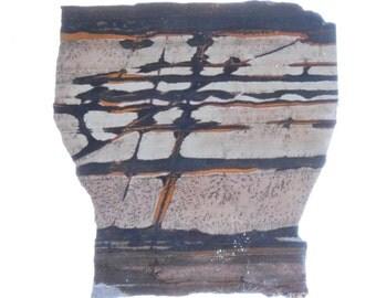 Indian Paint Stone (Death Valley Paint) Slab #3439