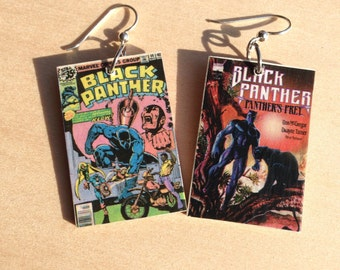 Black Panther Earrings