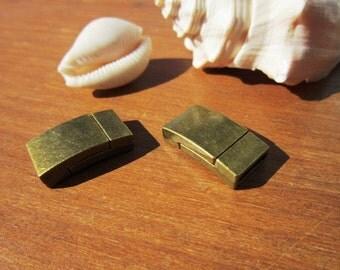 4pcs Magnetic clasp, magnetic clasp bracelets, magnets, leather cord clasp, bracelet clasps, jewelry clasps, leather clasp