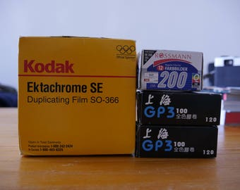 Expired Films collections (35mm, 120)
