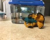 Custom Crocheted Fish