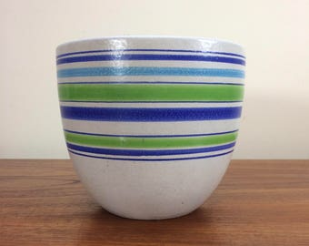 Vintage Bitossi Planter  Mid Century Rosenthal Netter Raymor Italian Pottery 1960's