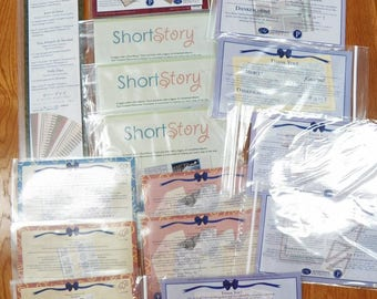 Creative Memories LOT of 15 Packs New~Short Stories/Energize/Personalize Stickers~Cards~Paper