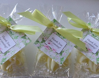 10 Lily Party Soap Favors, Baptisms, Birthdays, Special Occasions, Spring Parties, Mother's Day
