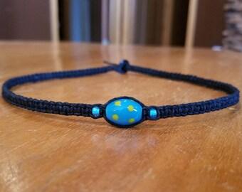 Black Necklace Hemp Choker Black Choker Necklace Hemp Necklace Hemp Jewelry for Teen Gift for Teen Necklace Boys Necklace Womens Necklace