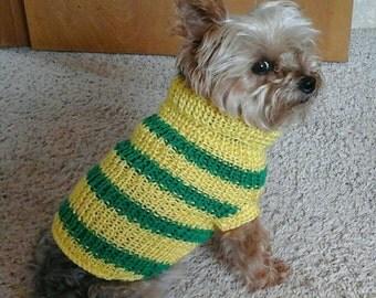 Pet sweater: Pet turtleneck vest, camouflage pet vest, dog hunting vest, cat sweater, Pet sweater, dog sweater, handmade sweaters, pet wear