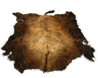 Glacier Wear Select Buffalo Bison Robe Hide Rug #0018