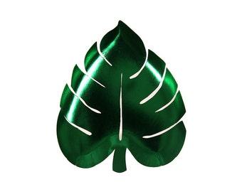 Palm Leaf Paper Plate, Meri Meri Party Decor, Party Supplies, Tableware
