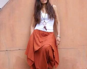 Harem Pants ...Yoga Wear...Dance Wear...Color Orange