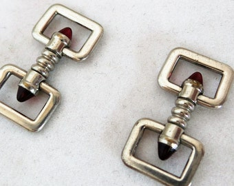 Vintage Cufflinks Stirrup Art Deco Style