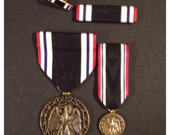 Gulf war era us pow 4 piece full size medal set