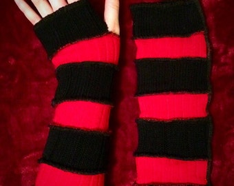Red/Black Arm Warmers