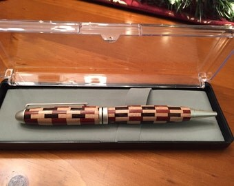 Multi Colored Wood Pen