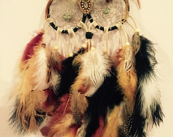 Country Western Owl Dream Catcher
