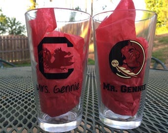 Custom Beer Glasses