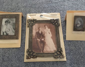 Dollhouse Vintage Framed Photos