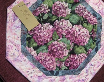 Hydrangea Pink Table Topper   #2049