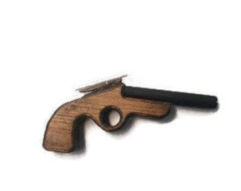 Wooden Toys,Rubberband Gun, Rubber Band Gun,Kids Toy Gift Birthday gift. Kids gift, Toy Guns, Shooter, Rubber Gun, Office FunGun, Rubberband