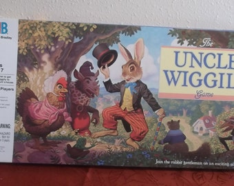 1988 Uncle Wiggly Board Game