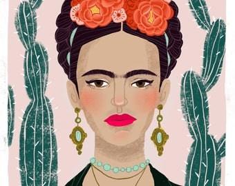 Frida Kahlo 8.5x11 print