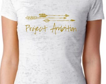 Project Ambition Anchor Burnout Tee