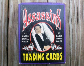 1991 Assassins Trading Cards Mother Productions Complete