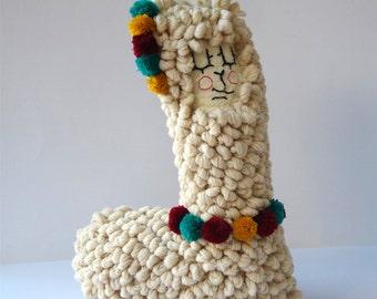 Vicu Size 3 (knitted alpaca plush)
