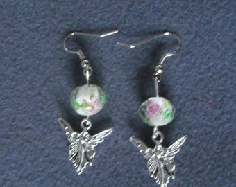 earring Pearl and fairy