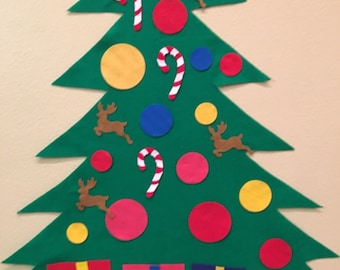 Felt Christmas Tree- Children's play tree