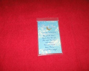 HALF PRICE SALE Thank You Angel Wings Copyright 1994 Welcome All Angels Ltd. Was 10.00 Now 5.00