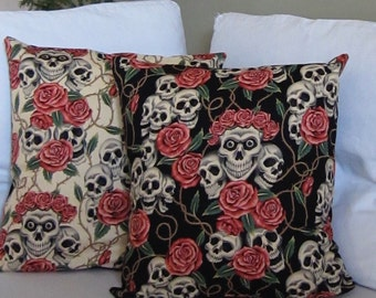 Rose Tattoo cushion cover