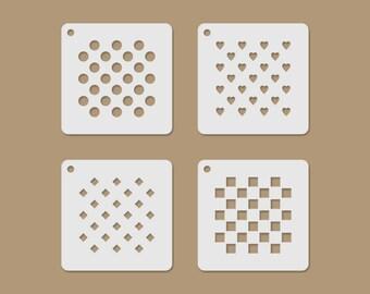 Basic Motives Mini Stencil Set